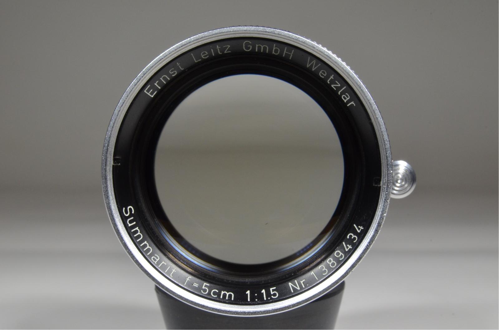 leica m2 camera s/n 1104628 self timer with summarit 50mm f1.5 lens
