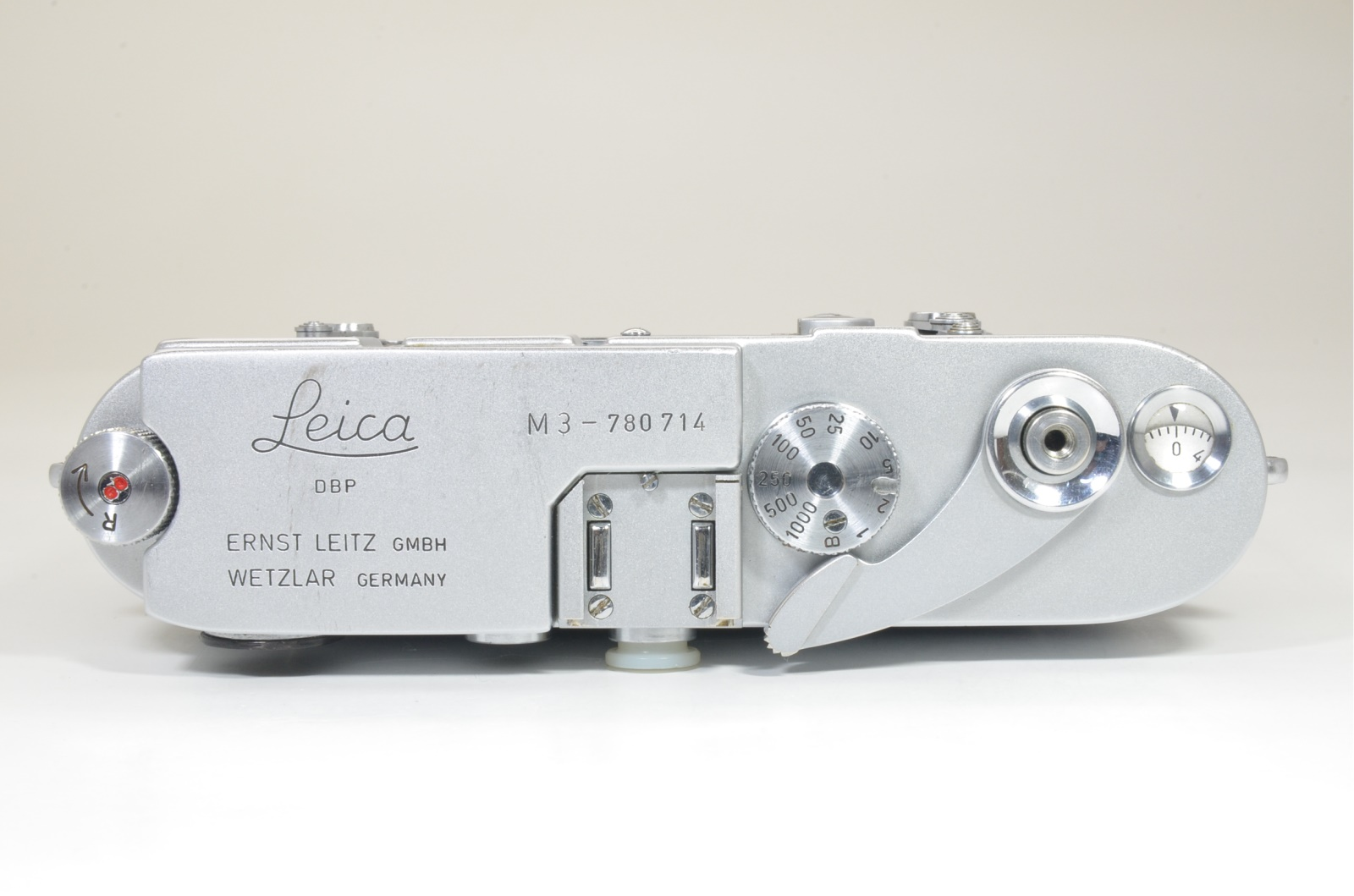 leica m3 double stroke s/n 780714 year 1955 with hand grip from japan shooting tested