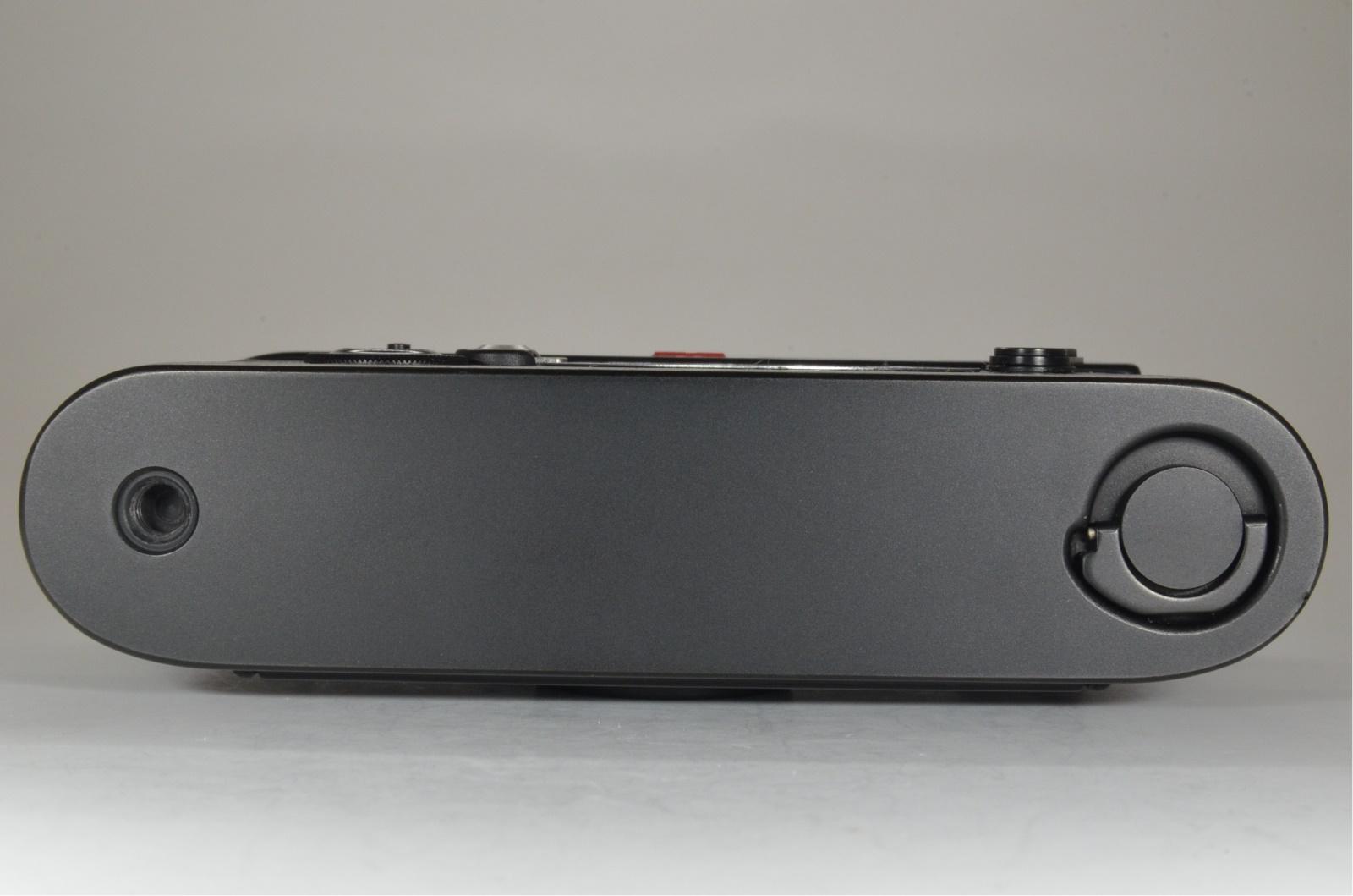 leica m6 0.72 black rangefinder serial no.1703863 year 1986 from japan