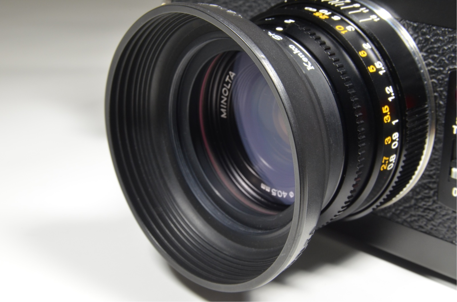 minolta cle 35mm film camera w/ m-rokkor 40mm f2