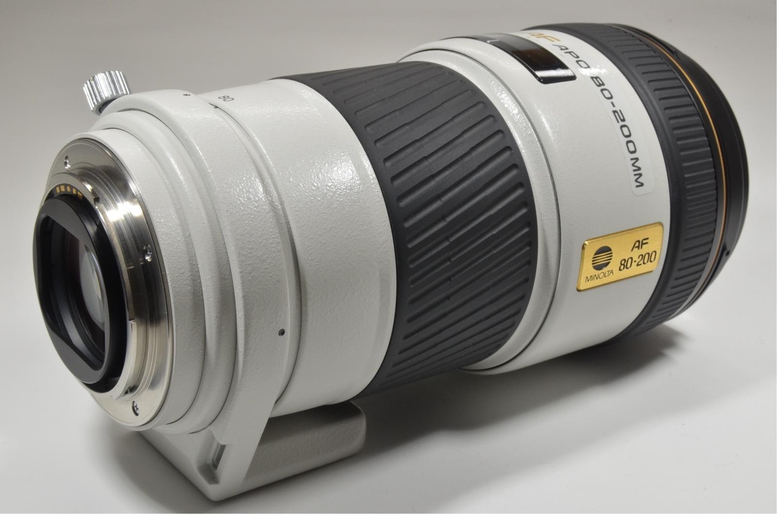 minolta high speed af apo 80-200mm f2.8 g lens sony japan
