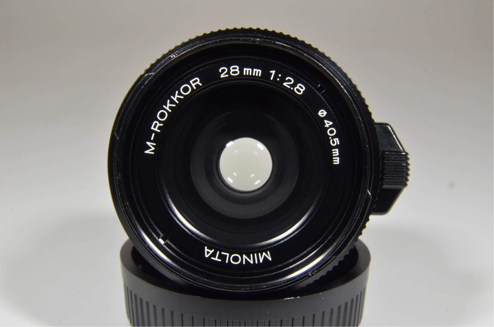 minolta cle film camera w/ m-rokkor 40mm f2, 28mm f2.8, 90mm f4, flash and grip film tested