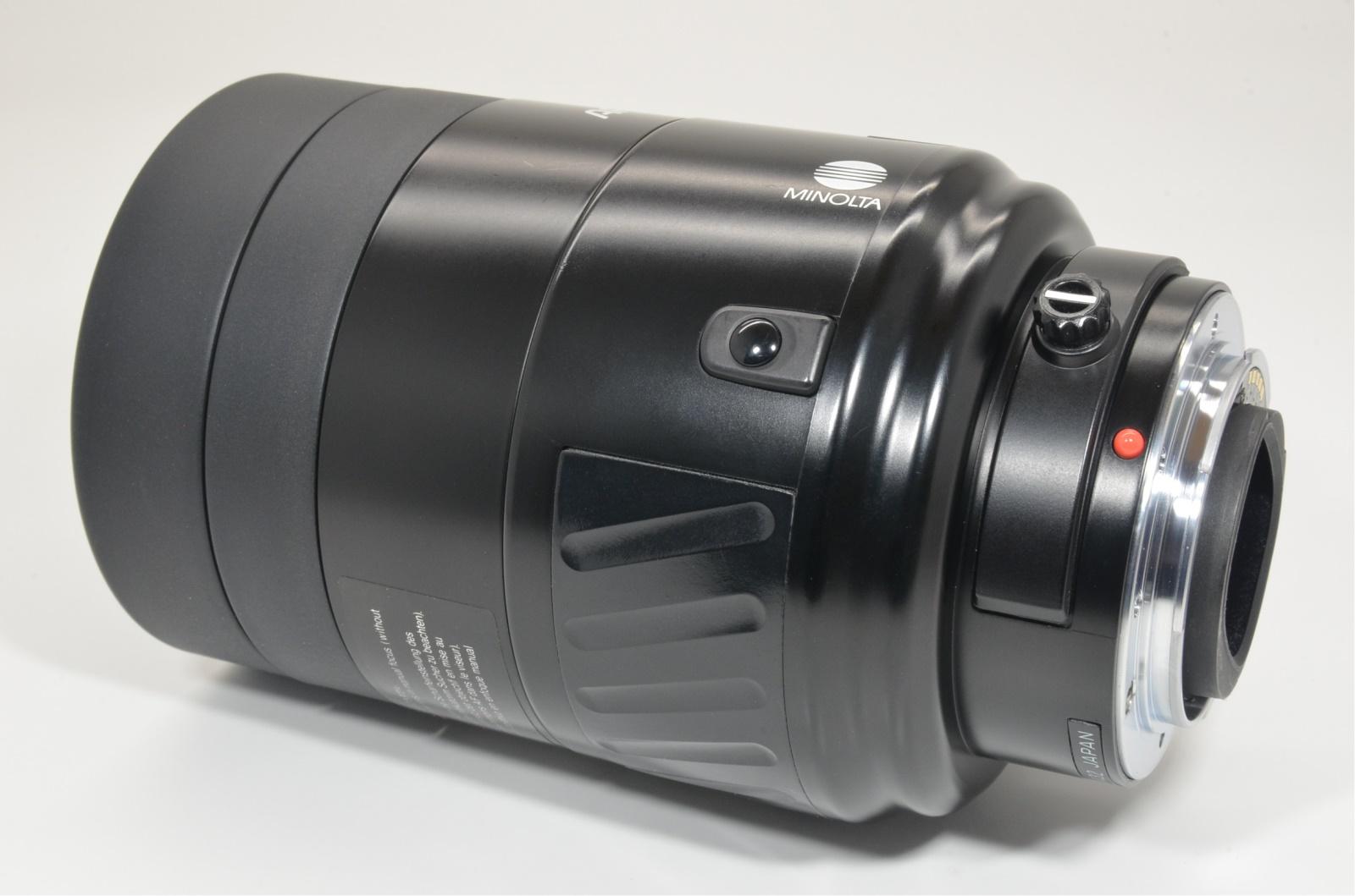 minolta af reflex 500mm f8 mirror lens for sony alpha
