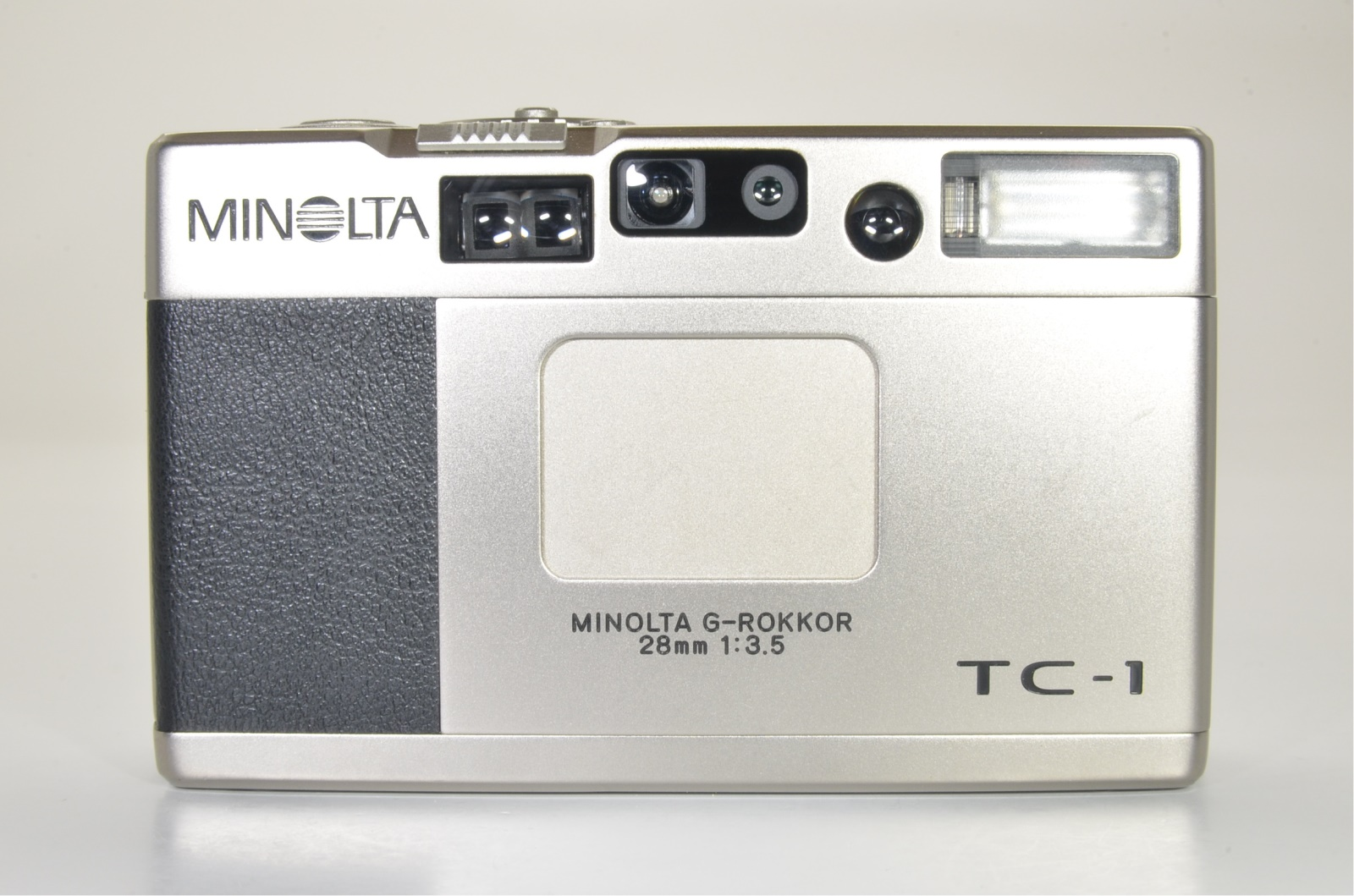minolta tc-1 point & shoot 35mm film camera 28mm f3.5 shooting tested