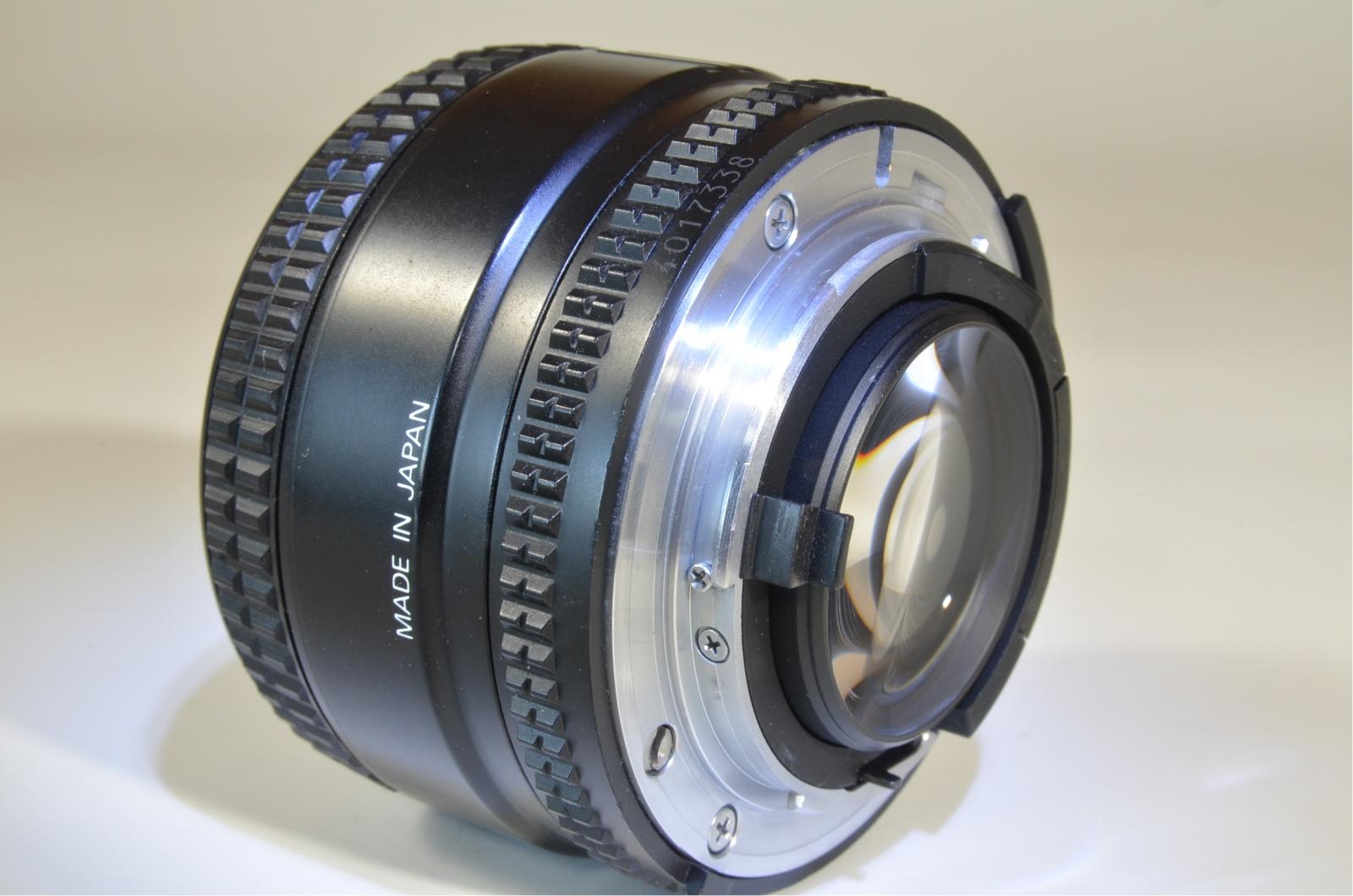 nikon af nikkor 50mm f/1.4 d standard lens