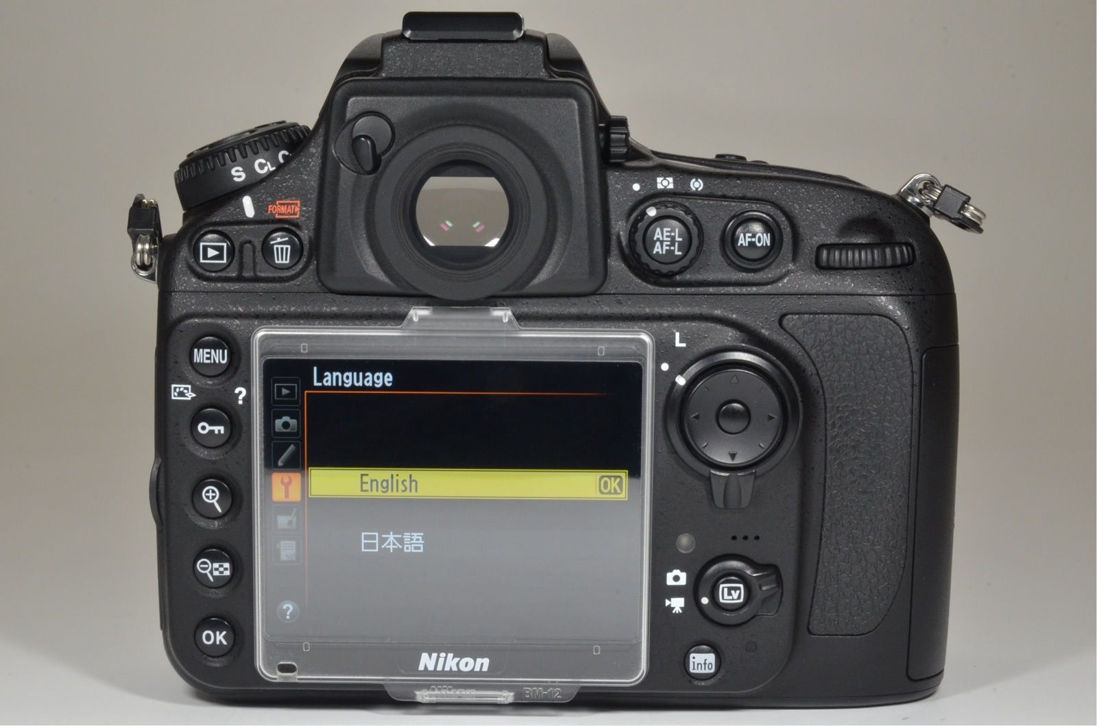 nikon d800 36.3mp digital slr camera shutter count 2135 from japan