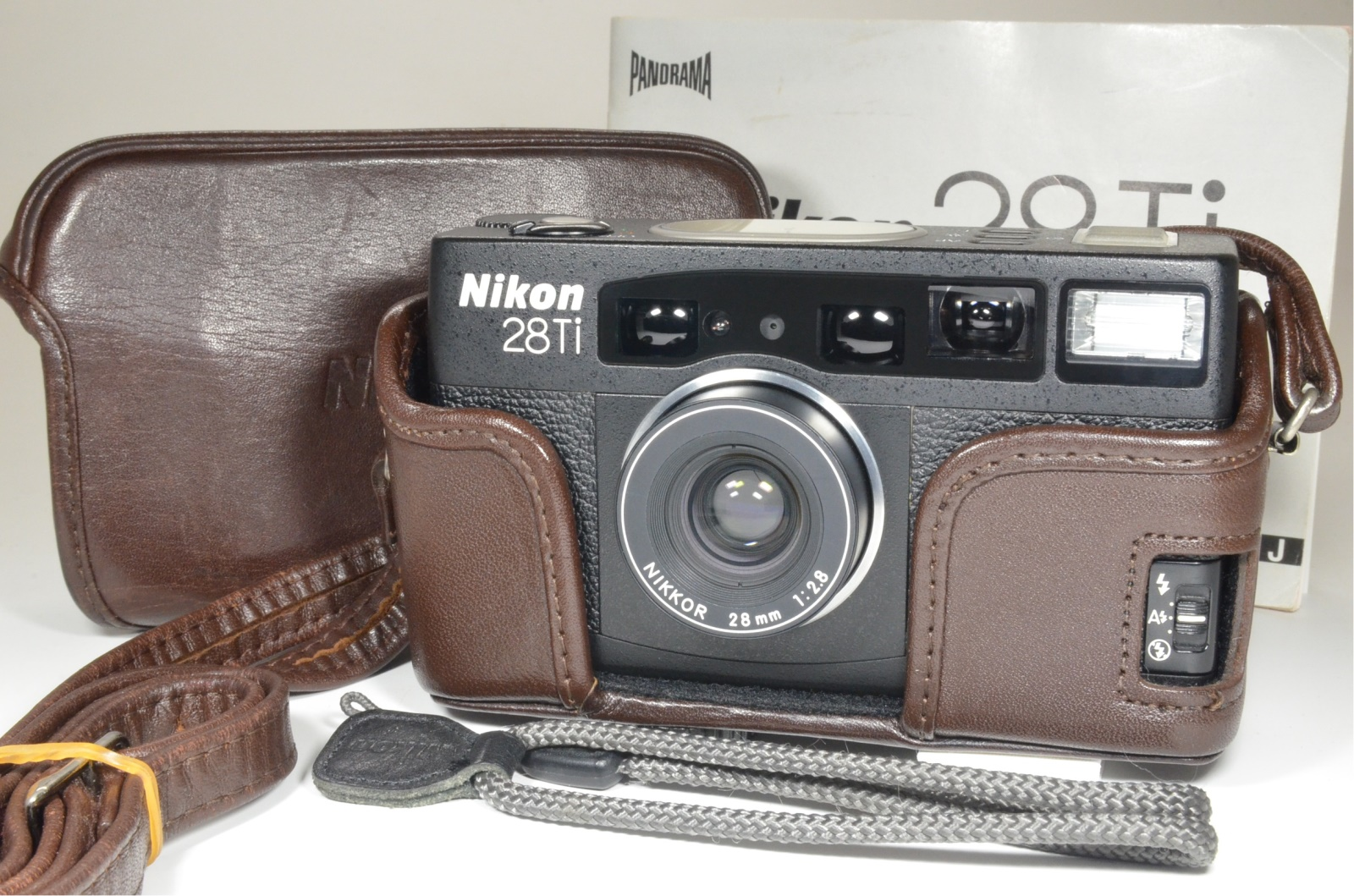 nikon 28ti p&s 35mm film camera lens 28mm f2.8 film tested