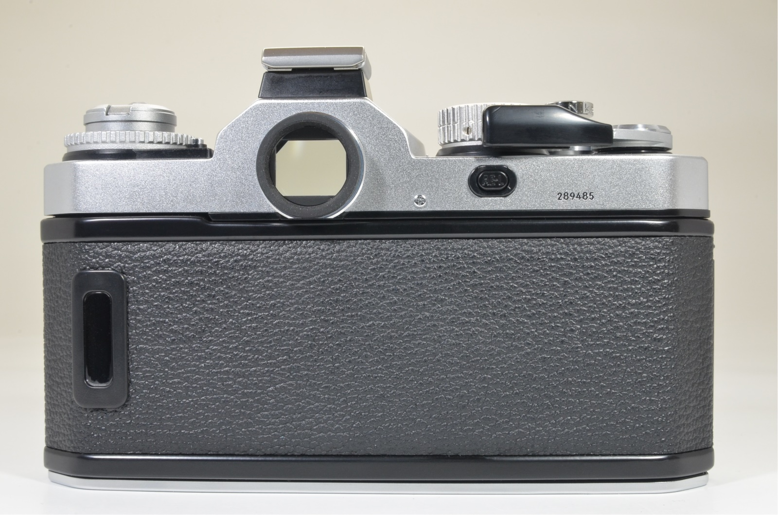 nikon fm3a silver 35mm film camera with nikkor 45mm f/2.8p film tested
