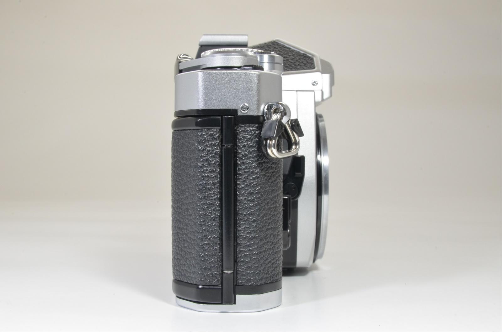 nikon fm3a silver 35mm film camera body film tested