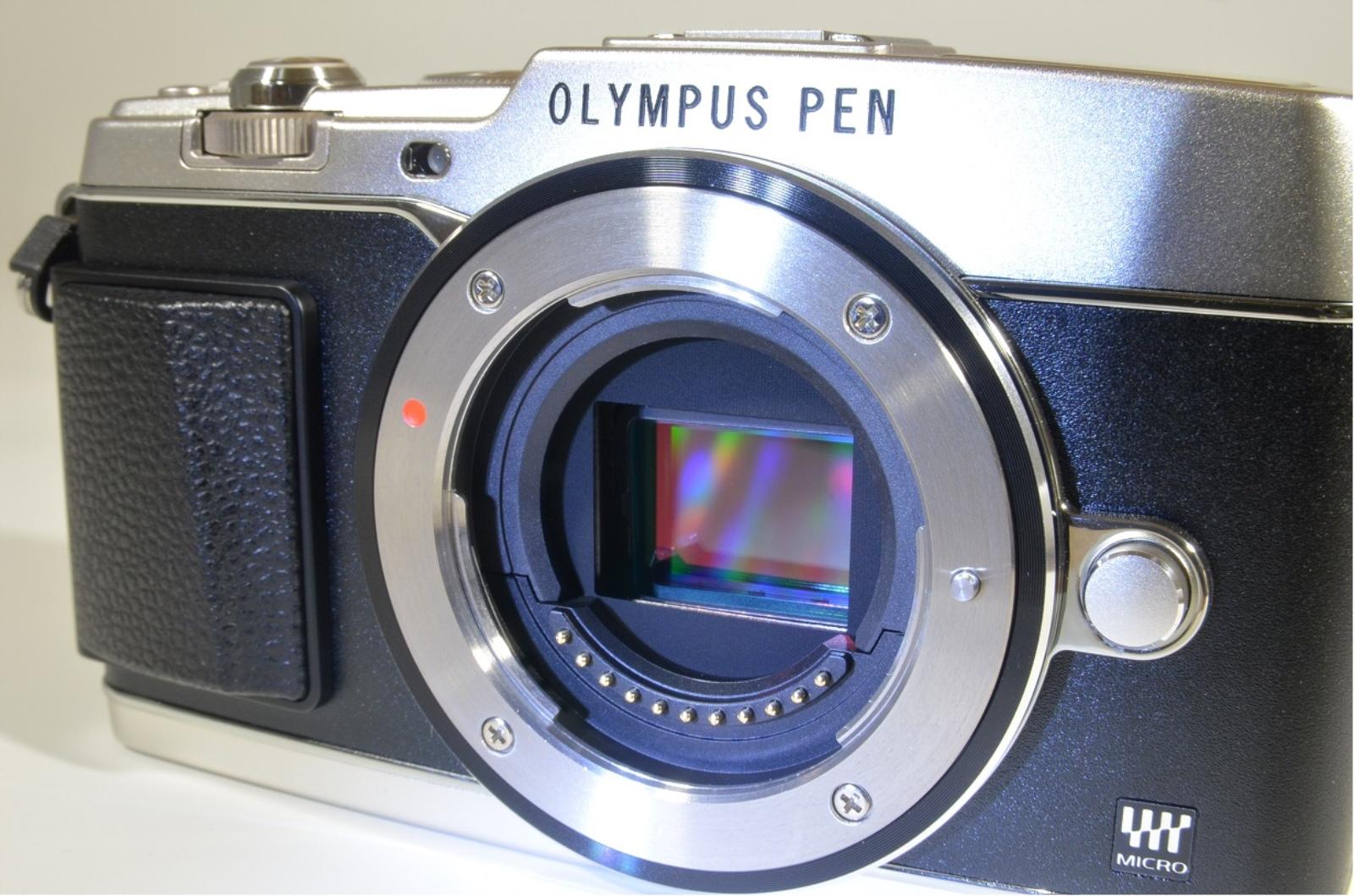 olympus pen e-p5 16mp mirrorless digital camera