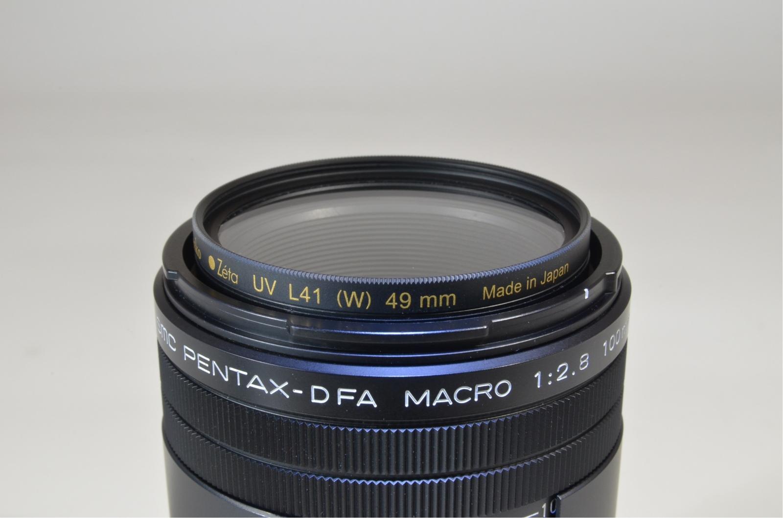 pentax d fa macro 100mm f/2.8 wr