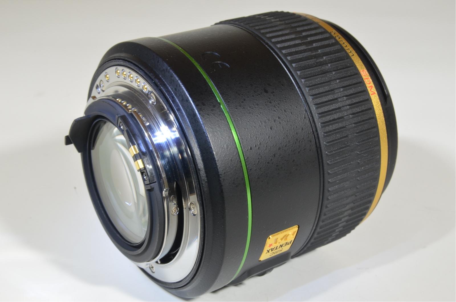 pentax smc da 55mm f1.4 sdm