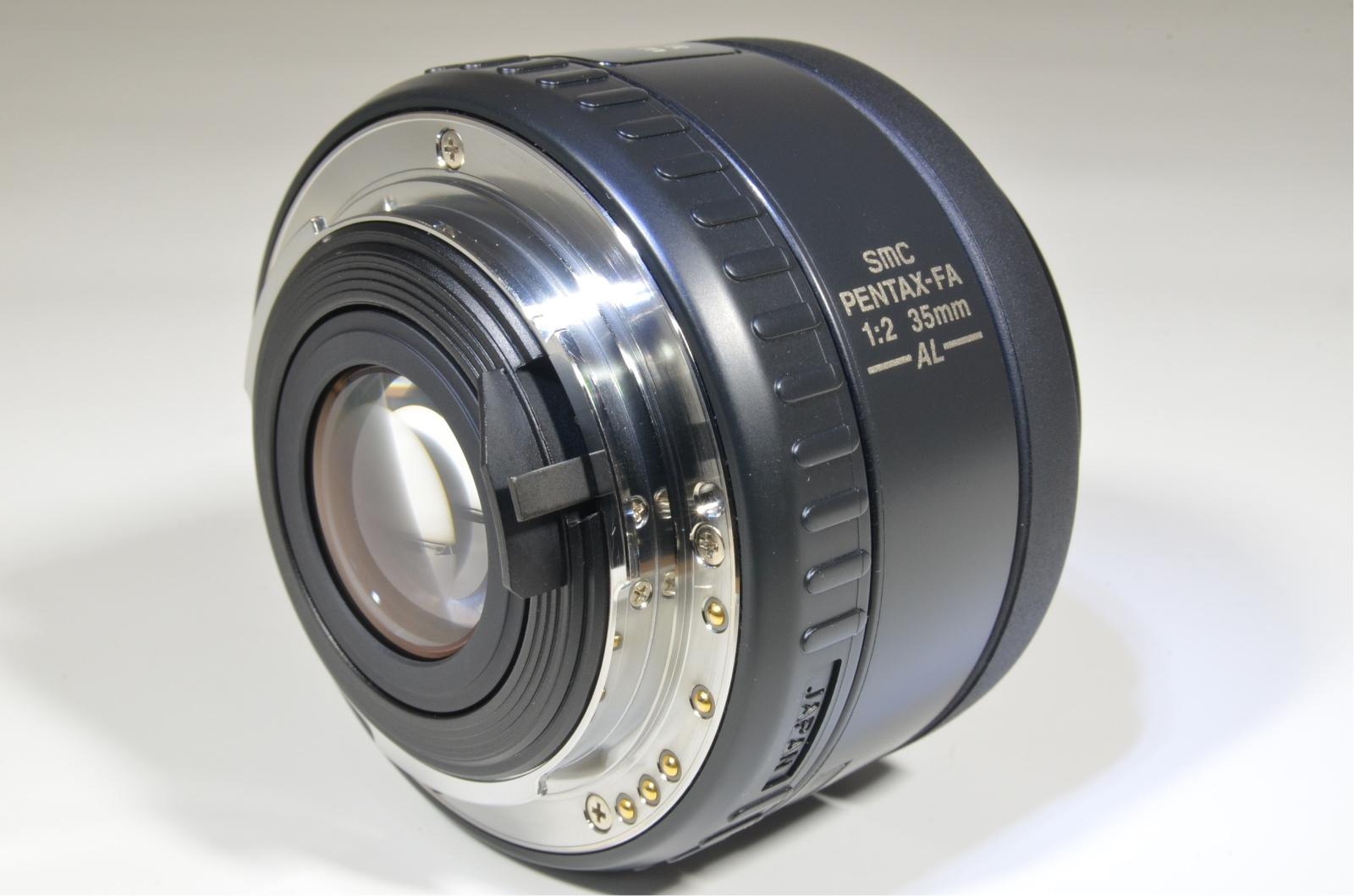 pentax smcp fa 35mm f2 al