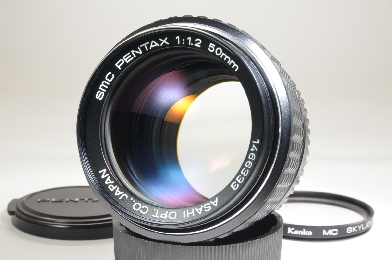 asahi smc pentax 50mm f/1.2 lens for k mount from japan