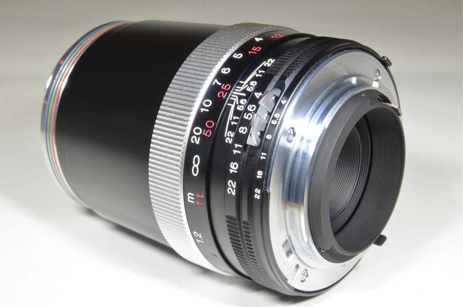 voigtlander apo-lanthar 180mm f4 sl for ai-s nikon with lens hood