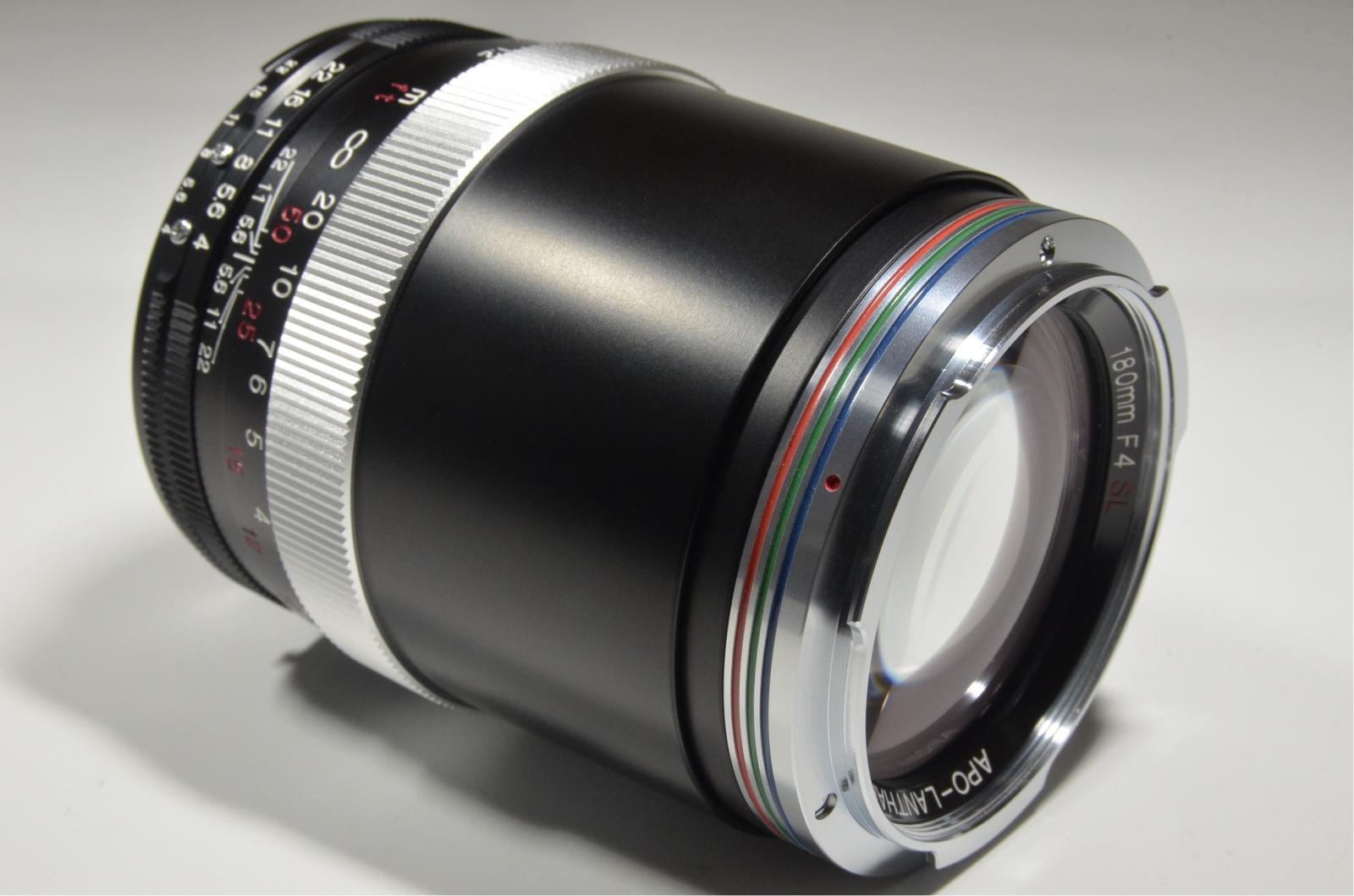voigtlander apo-lanthar 180mm f4 sl for ai-s nikon